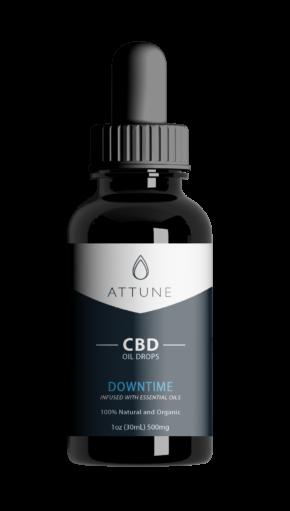 Attune 500mg Downtime CBD Oil Drops